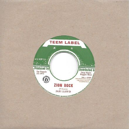 Jah Lloyd - Zion Rock / Vin Gordon - Rebel Rock (Teem / Deep Roots) 7""